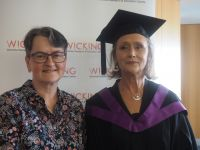Graduation a highlight for Wicking