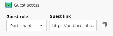 Guest Link Created