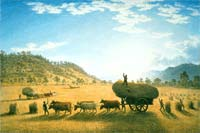 My harvest home by John Glover, 1835
