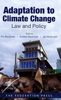 Adaptation to Climate Change: Law and Policy book cover
