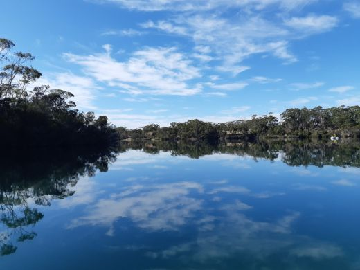 Tasmania blue lakes