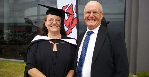 Charlene Barach and husband