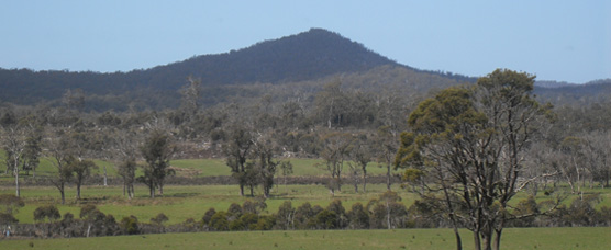 Landscape North East Tasmania
