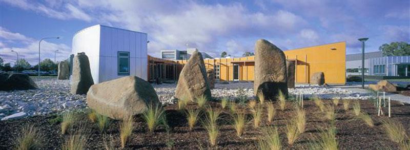 newnham campus building