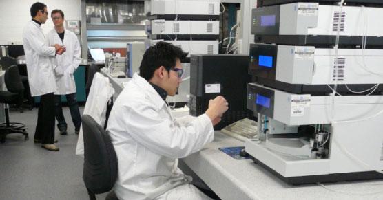 Across researchers in lab